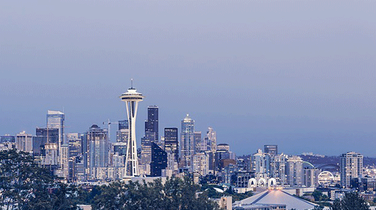 skyline of the City of Seattle